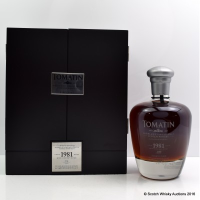 Tomatin 1981 32 Year Old Single Cask