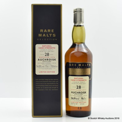 Rare Malts Auchroisk 1974 28 Year Old