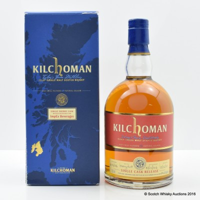 Kilchoman 2006 Sherry Cask For ImpEx Beverage 75cl