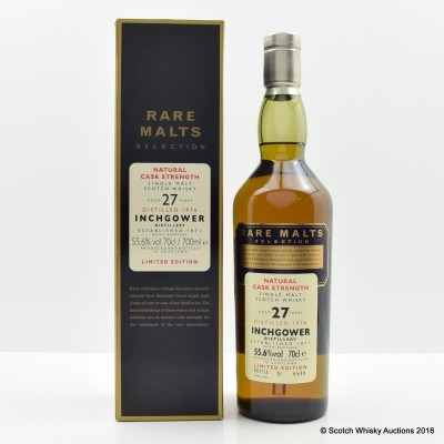 Rare Malts Inchgower 1976 27 Year Old