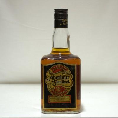 Aberlour Glenlivet 12 Year Old Dumpy Bottle 26 2/3 fl/oz