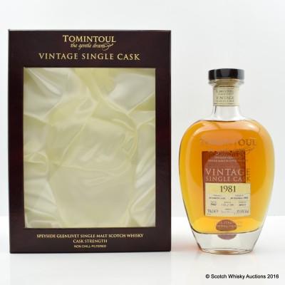 Tomintoul 1981 Single Cask #5985
