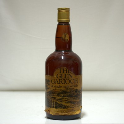 Glen Garioch Over 8 Years Old Old Style Label