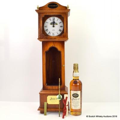 Glengoyne 2000 AD in Grandfather Clock