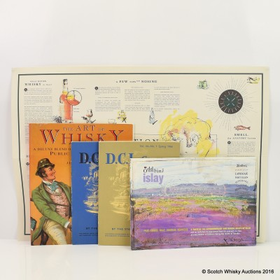Whisky Literature x 5 Including The Art Of Whisky