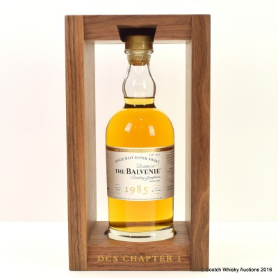 Balvenie Dcs Compendium Chapter 1 1985 30 Year Old