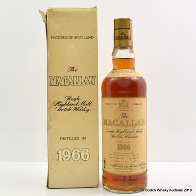 Macallan 1966 18 Year Old Giovinetti & Figli 75cl