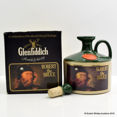 Glenfiddich Heritage Reserve Robert The Bruce Decanter 75cl