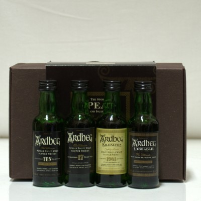 Ardbeg The Story Of Peat 4 x 5cl Minis