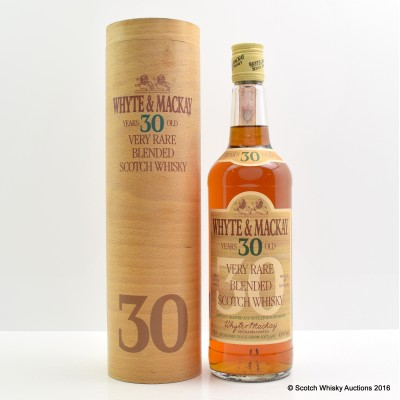 Whyte & Mackay 30 Year Old 75cl