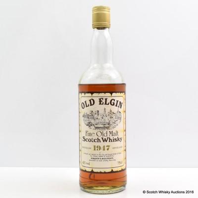 Old Elgin 1947 Gordon & MacPhail 75cl