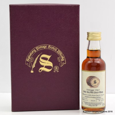Ardbeg 1967 28 Year Old Signatory Mini 5cl