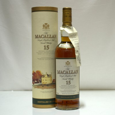 Macallan 15 Year Old