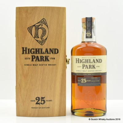 Highland Park 25 Year Old
