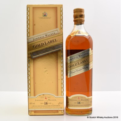 Johnnie Walker Gold Label 18 Year Old 75cl