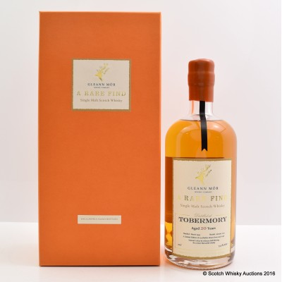 Tobermory 1994 20 Year Old Gleann Mor A Rare Find