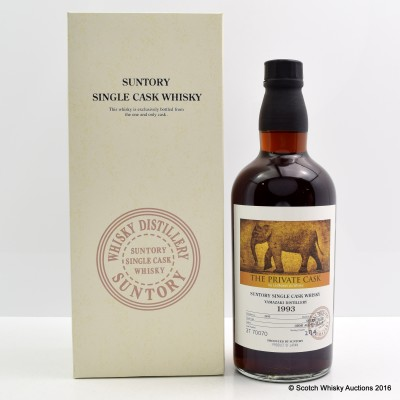 Yamazaki 1993 The Private Cask by La Maison du Whisky