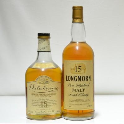 Longmorn 15 & Dalwhinnie 15