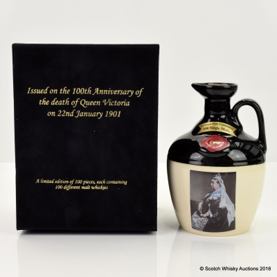 Rutherford's Ceramics 100th Anniversary of the Death of Queen Victoria