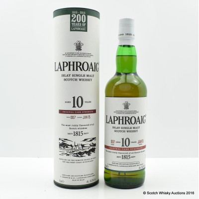 Laphroaig 10 Year Old Cask Strength Batch #7