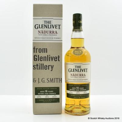 Glenlivet 16 Year Old Nadurra