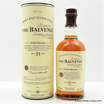 Balvenie 21 Year Old PortWood