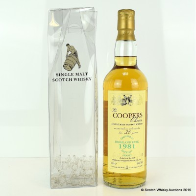 Highland Park 1981 26 Year Old The Cooper's Choice