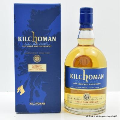 Kilchoman 2007 Single Cask The Whisky Show 2010