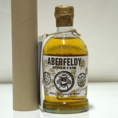 Aberfeldy 21 Year Old With Postcards and Poster