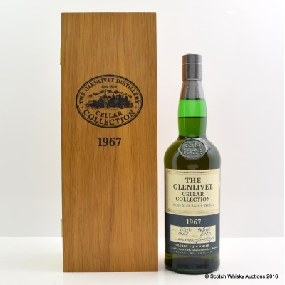 Glenlivet 1967 Cellar Collection