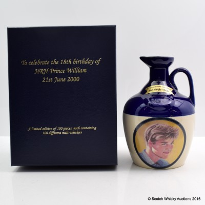 RUTHERFORD'S CERAMICS 18th BIRTHDAY OF PRINCE WILLIAM