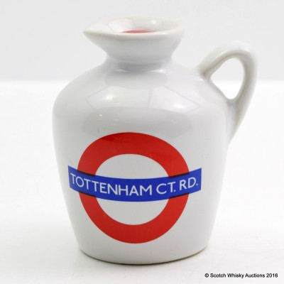 Macallan 10 Year Old London Underground Series Tottenham Ct.Rd Ceramic Mini 5cl