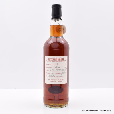Springbank 2005 10 Year Old Duty Paid Sample