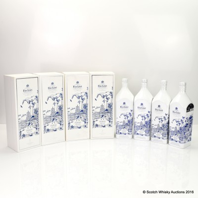 Johnnie Walker Blue Label House - Taiwan 4 x 75cl