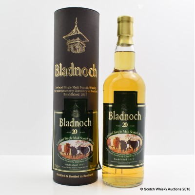 Bladnoch 20 Year Old