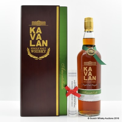 Kavalan Solist Amontillado 75cl