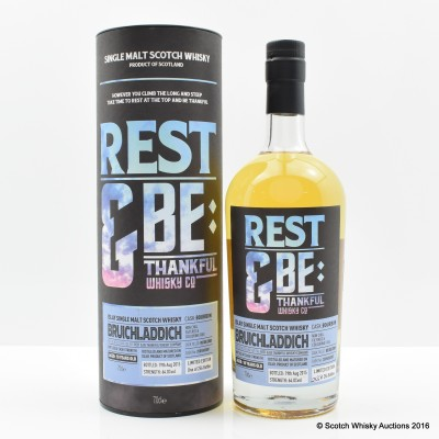 Bruichladdich 2005 10 Year Old Rest & Be Thankful Bourbon Cask