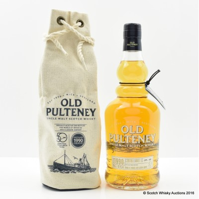 OLD PULTENEY 1990 SINGLE CASK #441 GLASGOW AIRPORT 50TH ANNIVERSARY