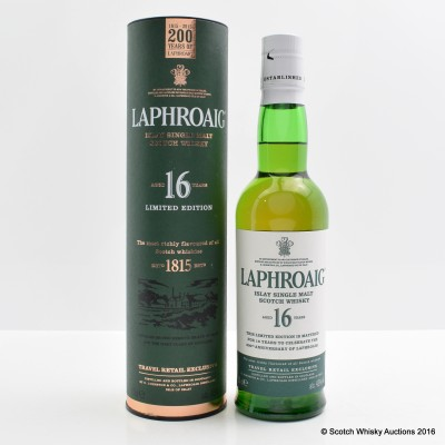 Laphroaig 16 Year Old 200 Year Old Anniversary 35cl