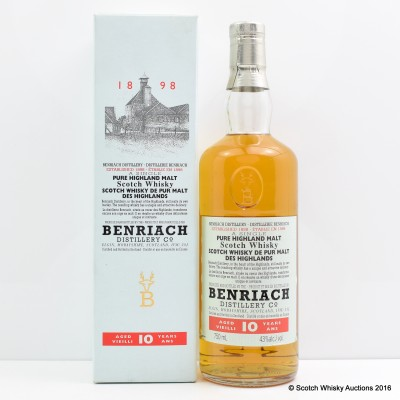 BenRiach 10 Year Old Old Style 75cl