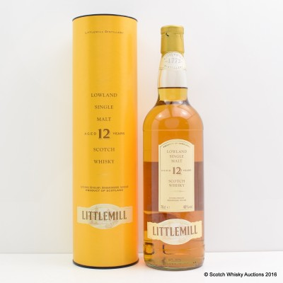 Littlemill 12 Year Old
