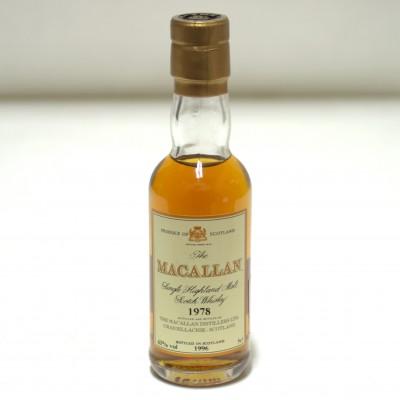 Macallan 1978 5cl Mini