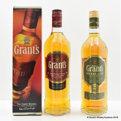 Grant's Family Reserve & Grant's Sherry Cask Reserve