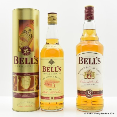Bell's 8 Year Old 1L & Bell's 8 Year Old 70cl