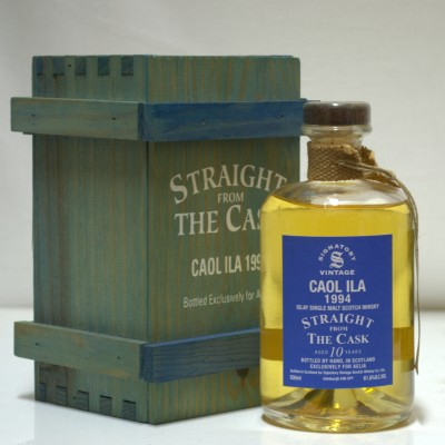 Caol Ila 1994 Straight From The Cask Signatory 50cl