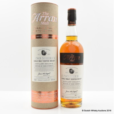 Arran Distillery Exclusive Fino Sherry Batch #2