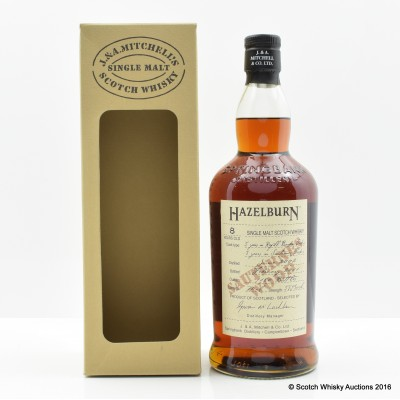 HAZELBURN 2002 8 YEAR OLD SAUTERNES WOOD