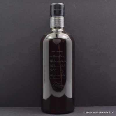 Nikka 70th Anniversary 12 year Old Blend
