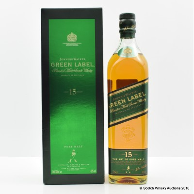 Johnnie Walker 15 Year Old Green Label