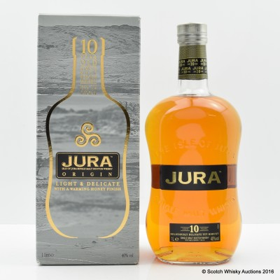 Jura 10 Year Old Origin 1L